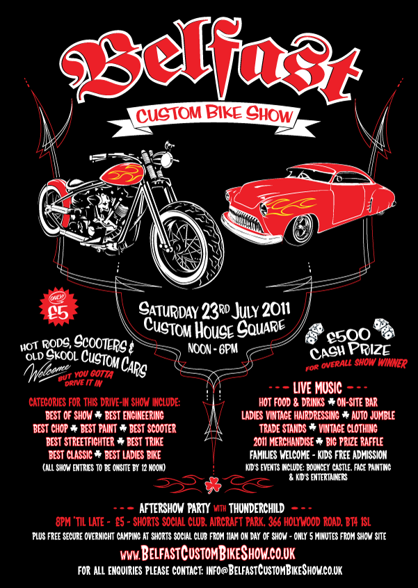 Car Show Flyer Template Psd